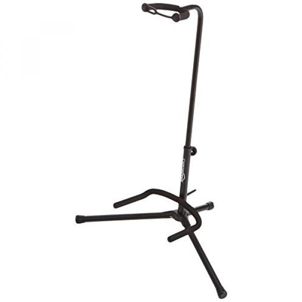 AmazonBasics Tripod Guitar Stand with Security Strap #1 image