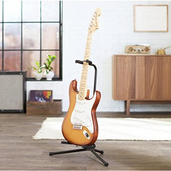 AmazonBasics Tripod Guitar Stand with Security Strap #2 image