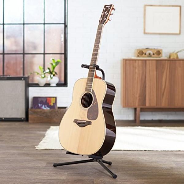 AmazonBasics Tripod Guitar Stand with Security Strap #3 image