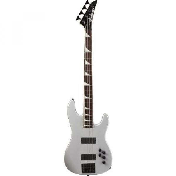 Jackson David Ellefson CB-X X-Series Electric Bass Guitar - Quicksilver #1 image