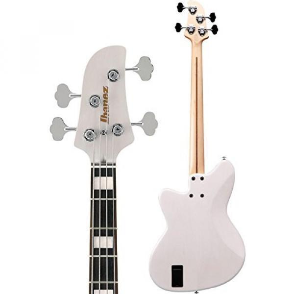 Ibanez TMB2000 Talman Prestige Electric Bass Guitar Antique White Blonde #4 image
