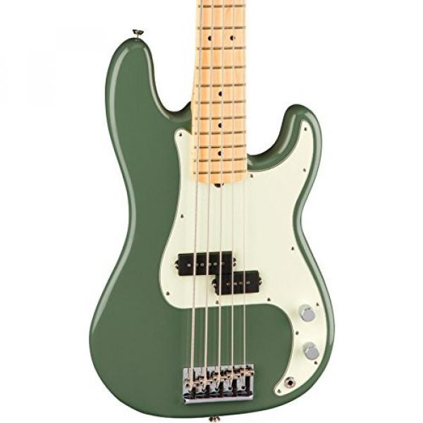 Fender American Professional Precision Bass V - Antique Olive #5 image