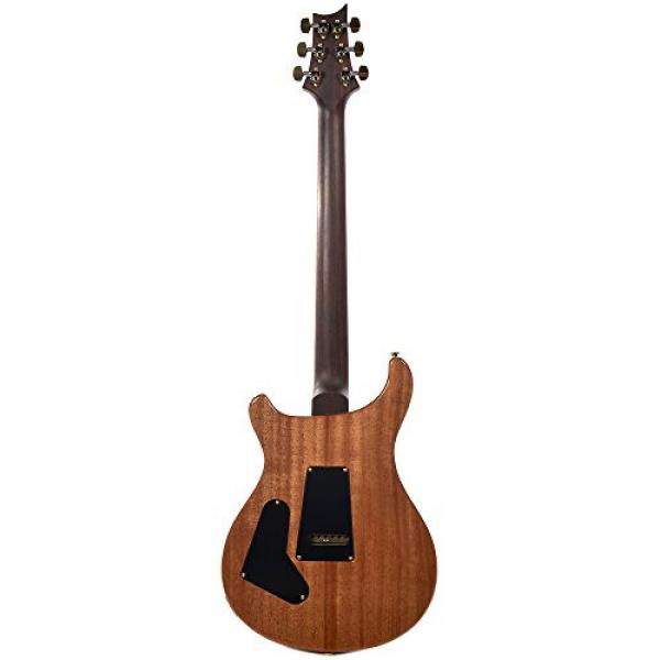 PRS CME Wood Library Custom 24 10 Top Quilt Black Gold w/Pattern Regular Neck #5 image
