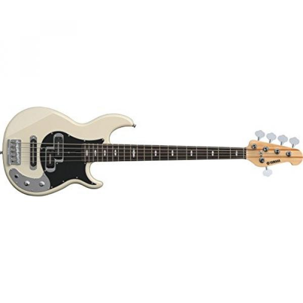Yamaha BB Series BB1025X VW 5-Strings Bass Guitar; Vintage White #1 image