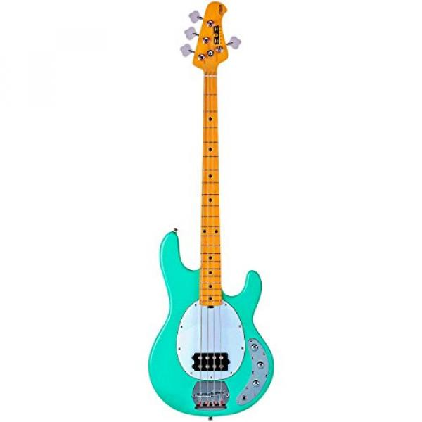 Sterling by Music Man S.U.B. Ray4 Electric Bass Guitar Mint Green #2 image