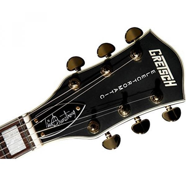 Gretsch G5191BK Tim Armstrong Signature Electromatic Hollow Body Electric Guitar - Black #5 image