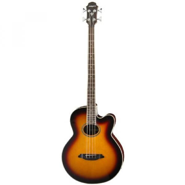 Aria FEB-STD Acoustic-Electric Bass - Brown Sunburst #1 image