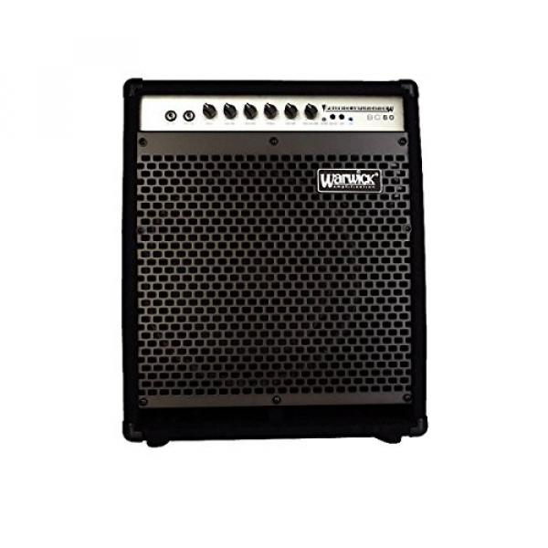 Warwick BC80 80W 1x12 Bass Combo with 2 in. Horn Black #1 image