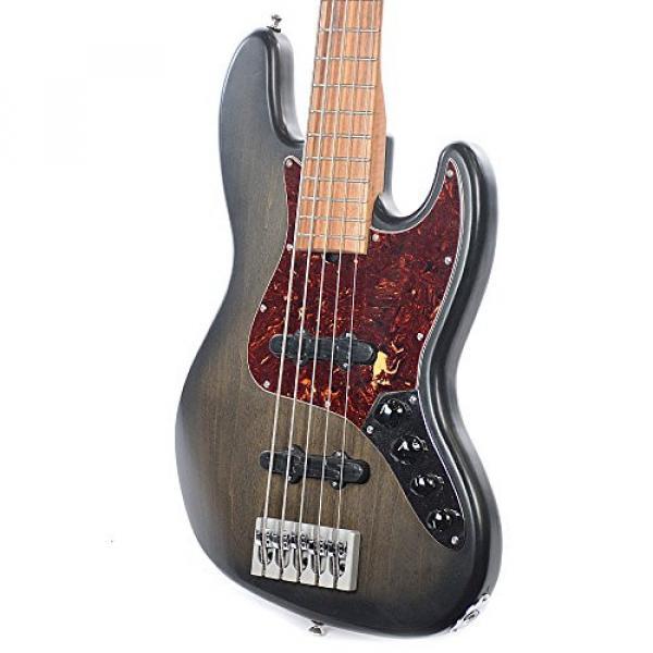 Marco Bass Guitars JTFL 5-String Blackburst #2 image