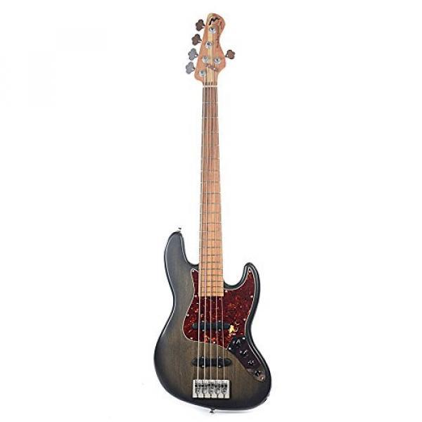 Marco Bass Guitars JTFL 5-String Blackburst #4 image