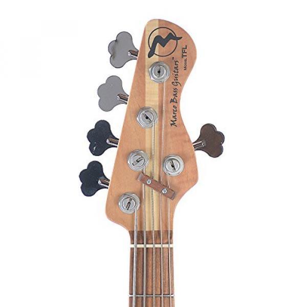 Marco Bass Guitars JTFL 5-String Blackburst #6 image