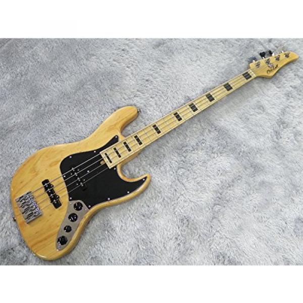 Mike Lull M4V 70's Natural Electric Bass #1 image