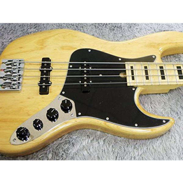 Mike Lull M4V 70's Natural Electric Bass #3 image