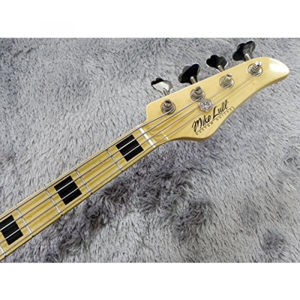 Mike Lull M4V 70's Natural Electric Bass #5 image