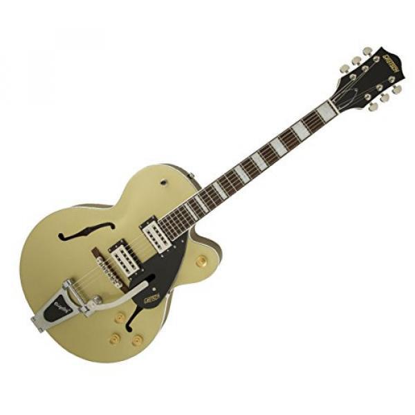 Gretsch G2420T Streamliner Hollowbody Guitar w/Bigsby Gold Dust #1 image