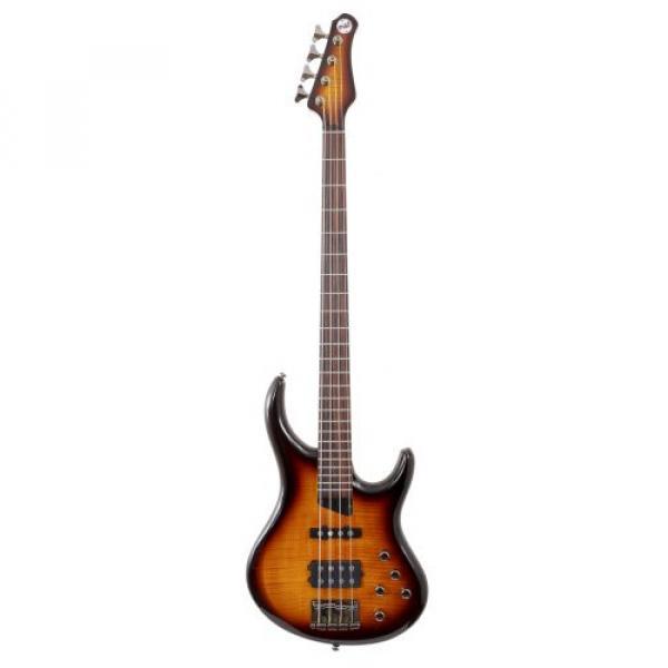 "MTD Kingston ""The Heir"" Bass Guitar (4 String, Rosewood, Tobacco Sunburst) #1 image"