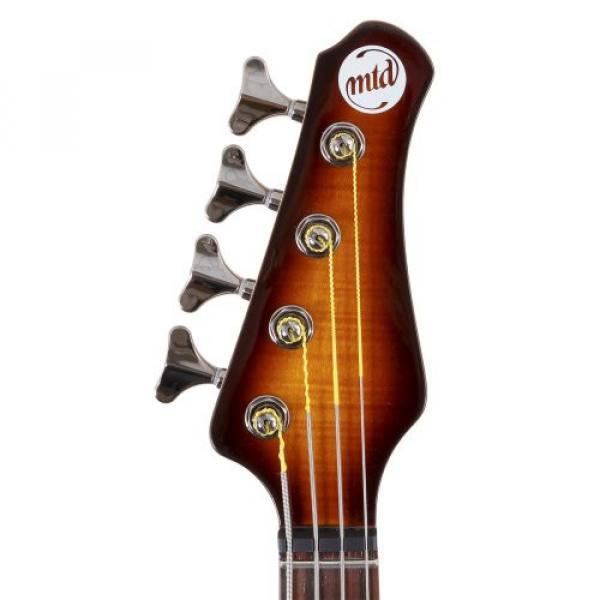 "MTD Kingston ""The Heir"" Bass Guitar (4 String, Rosewood, Tobacco Sunburst) #3 image"