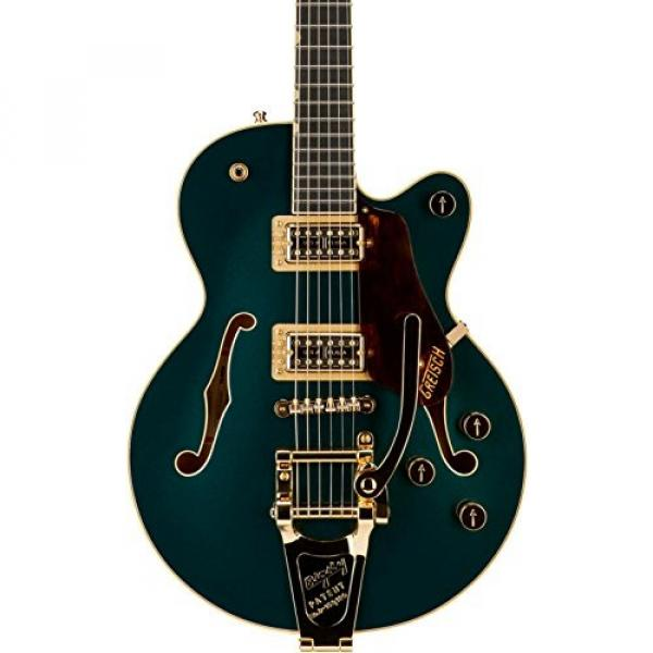 Gretsch G6655TG Players Edition Broadkaster Jr. Center Block - Cadillac Green, Bigsby Tailpiece #1 image