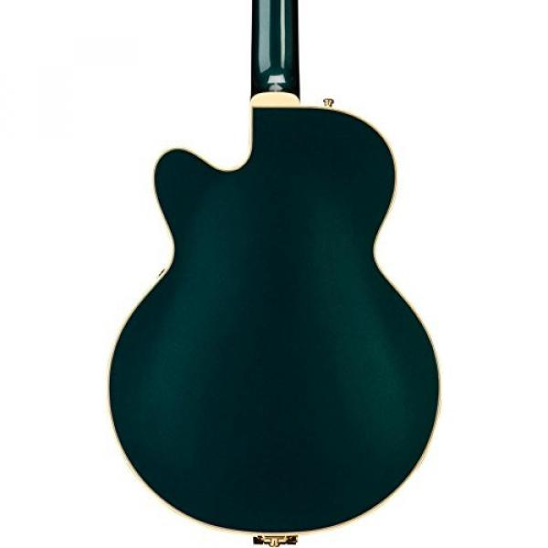 Gretsch G6655TG Players Edition Broadkaster Jr. Center Block - Cadillac Green, Bigsby Tailpiece #2 image