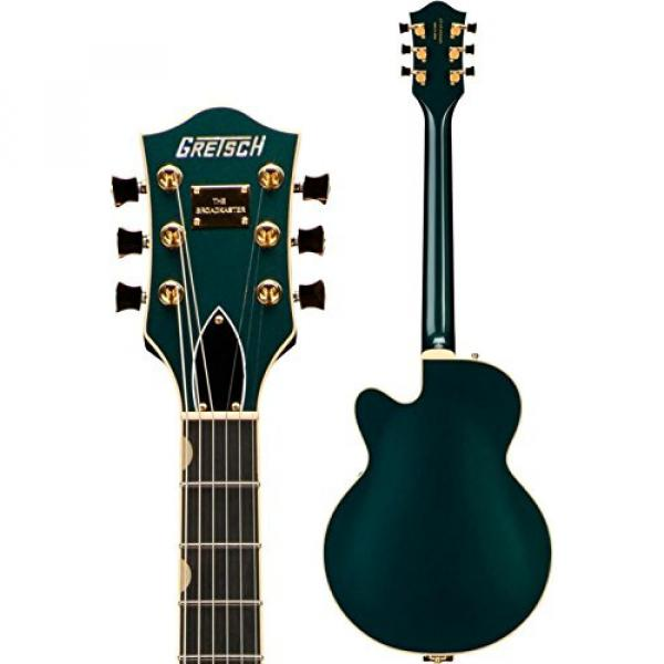 Gretsch G6655TG Players Edition Broadkaster Jr. Center Block - Cadillac Green, Bigsby Tailpiece #4 image