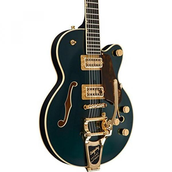 Gretsch G6655TG Players Edition Broadkaster Jr. Center Block - Cadillac Green, Bigsby Tailpiece #5 image