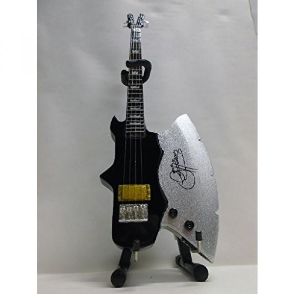 Axe Heaven Gene Simmons Signature Classic Axe Miniature Bass Guitar Replica #1 image