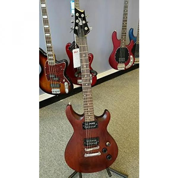 Cort M200 WS Electric Guitar Walnut Satin Carved top Guitar Power sound pickups #2 image
