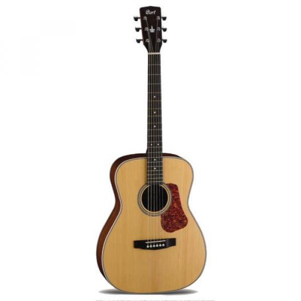Cort L100C Concert Acoustic Guitar,  Natural Satin #1 image