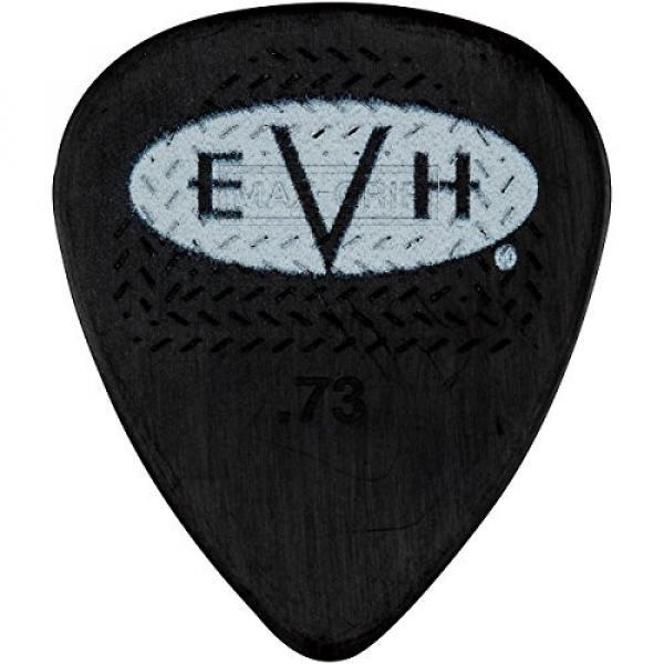 EVH Signature Series Picks (6 Pack) 0.73 mm Black/White #1 image