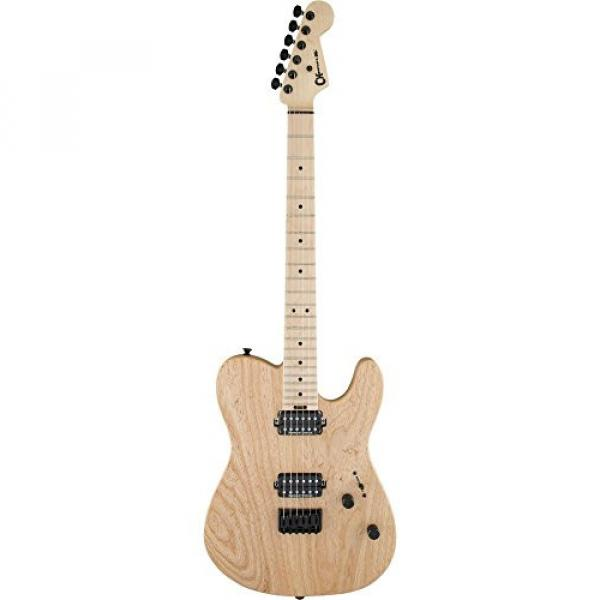 Charvel Pro-Mod San Dimas Style 2 HH - Natural with Maple Fingerboard #3 image