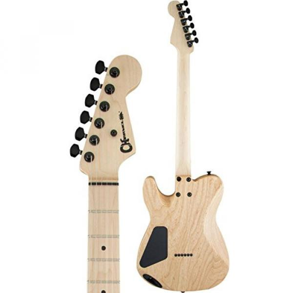Charvel Pro-Mod San Dimas Style 2 HH - Natural with Maple Fingerboard #4 image
