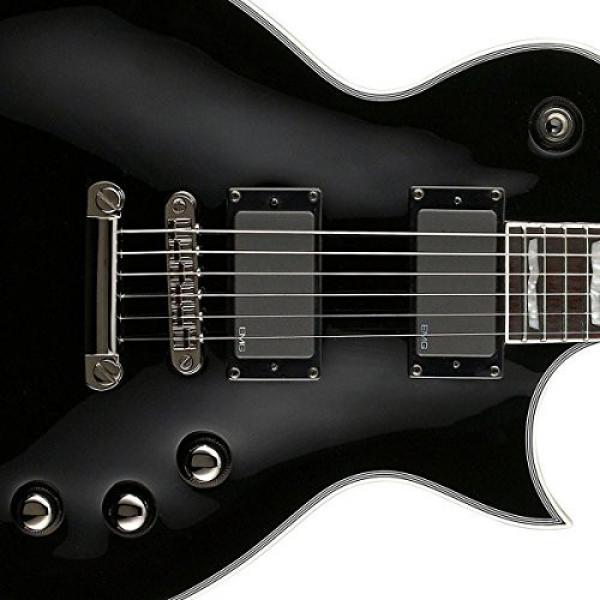 ESP LTD EC-401 Electric Guitar with Gig Bag Bundle, Black #4 image