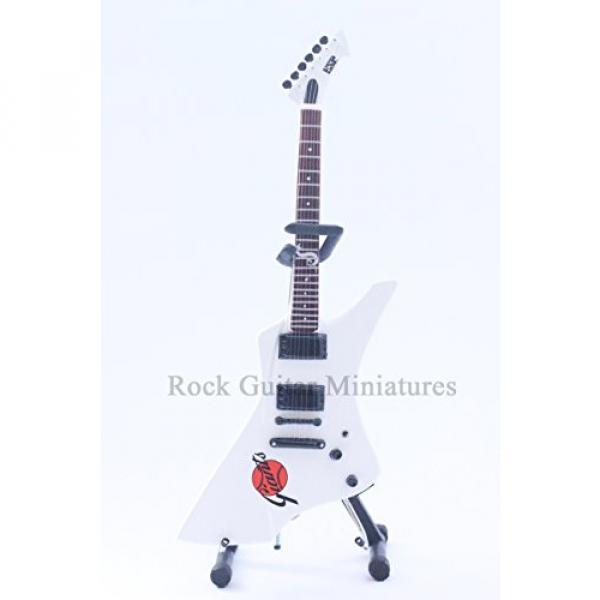 RGM61 James Hetfield Metallica ESP Snakebite Giants Miniature Guitar #2 image