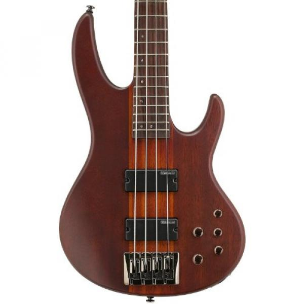 ESP D-4-NS-KIT-2 Natural Satin 4-String Electric Bass with Accessories and Hard Case #3 image