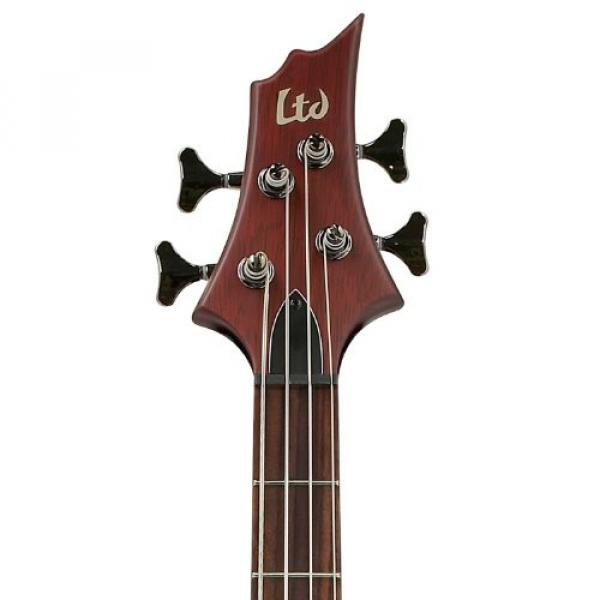 ESP D-4-NS-KIT-2 Natural Satin 4-String Electric Bass with Accessories and Hard Case #4 image