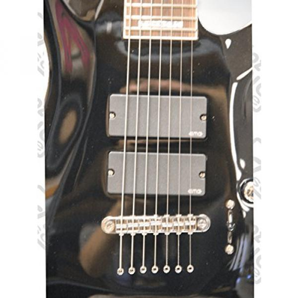 ESP LTD SC-607B Stephen Carpenter Baritone Guitar, Tuner & Polishing Cloth #4 image