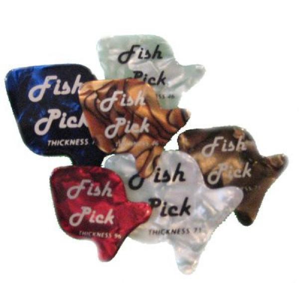 Fishpick Guitar Picks - 12 Pack #1 image