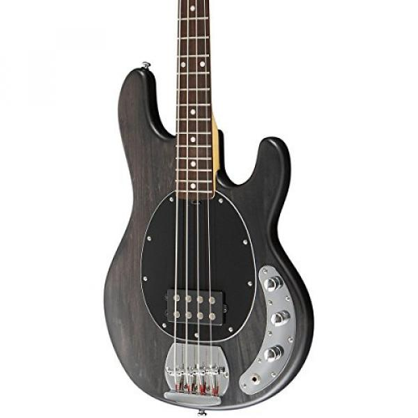Sterling by Music Man S.U.B. Ray4 Electric Bass Guitar Satin Black Rosewood Fingerboard #1 image