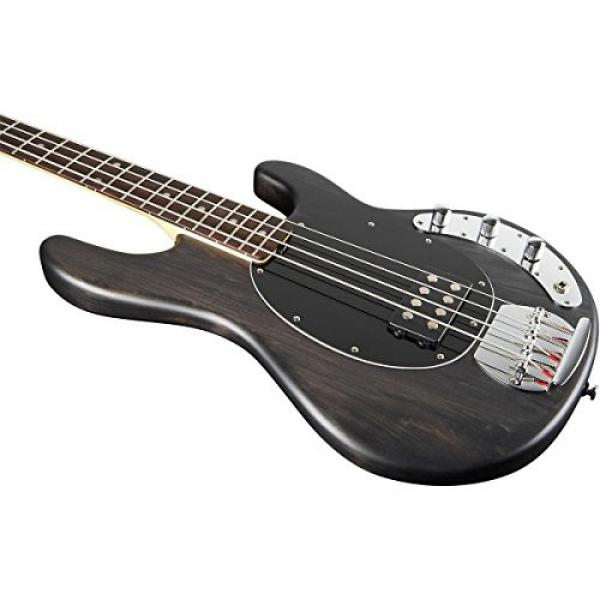 Sterling by Music Man S.U.B. Ray4 Electric Bass Guitar Satin Black Rosewood Fingerboard #4 image