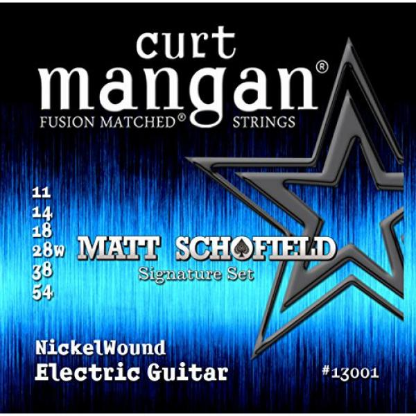 Curt Mangan Fusion Matched Nickel Wound Electric Strings Matt Schofield Signature Set (11-54) #1 image