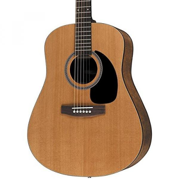 Seagull Acoustic Solid Cedar Top S6 Dreadnought Size #029396 w/Stand & More #3 image