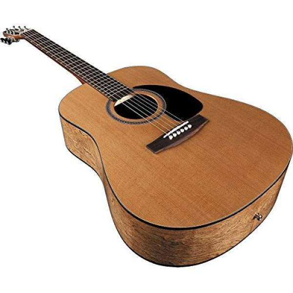 Seagull Acoustic Solid Cedar Top S6 Dreadnought Size #029396 w/Stand & More #5 image