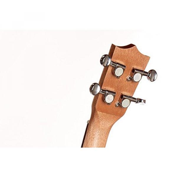 "Greneric 26"" Tenor Ukulele Small Hawaiian Guitar Wood Musical Instruments Zebra Wood+Bag #7 image"