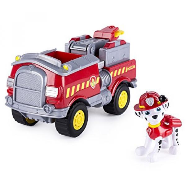 Paw Patrol - Marshall's Forest Fire Truck Vehicle - Figure and Vehicle #1 image