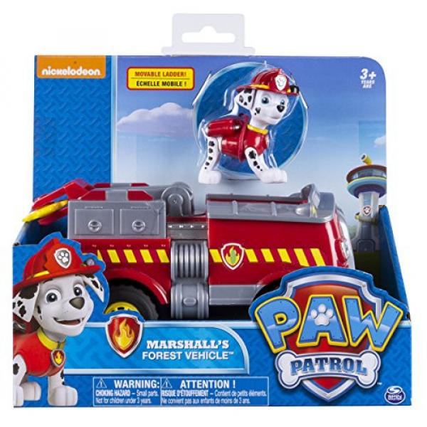 Paw Patrol - Marshall's Forest Fire Truck Vehicle - Figure and Vehicle #2 image