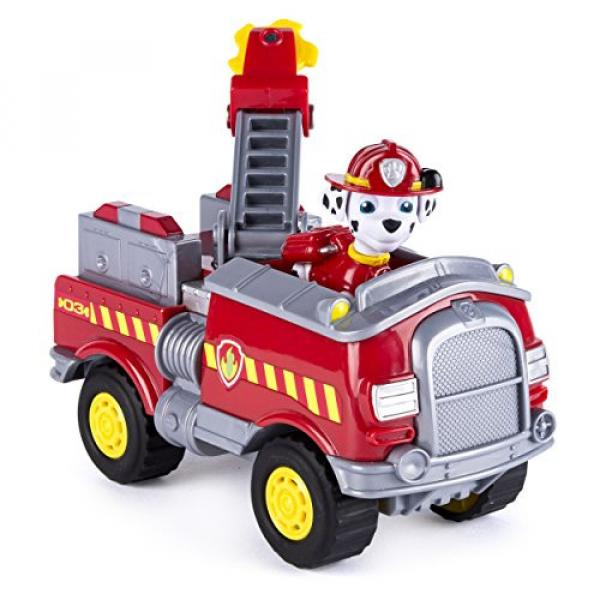 Paw Patrol - Marshall's Forest Fire Truck Vehicle - Figure and Vehicle #3 image