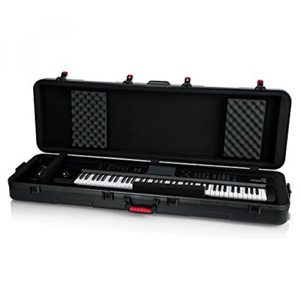 Gator Cases GTSA-KEY88SL 88 Note Slim Workstation, Synth, or Keyboard Case #2 image