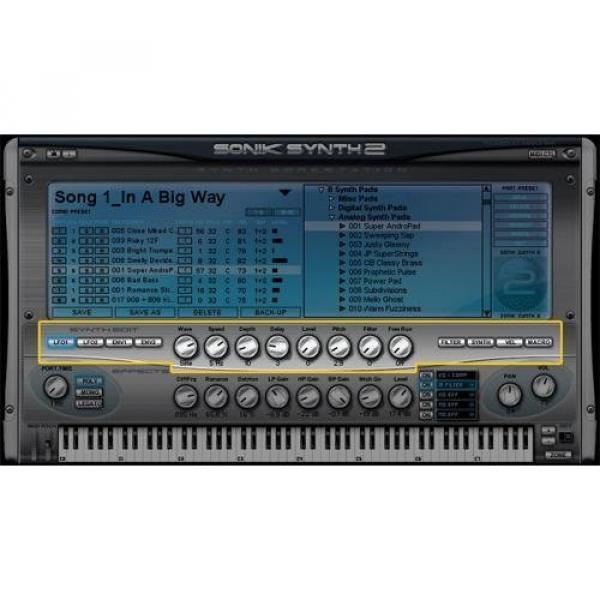 IK Multimedia Sonik Synth 2 Vintage Synth Workstation #3 image