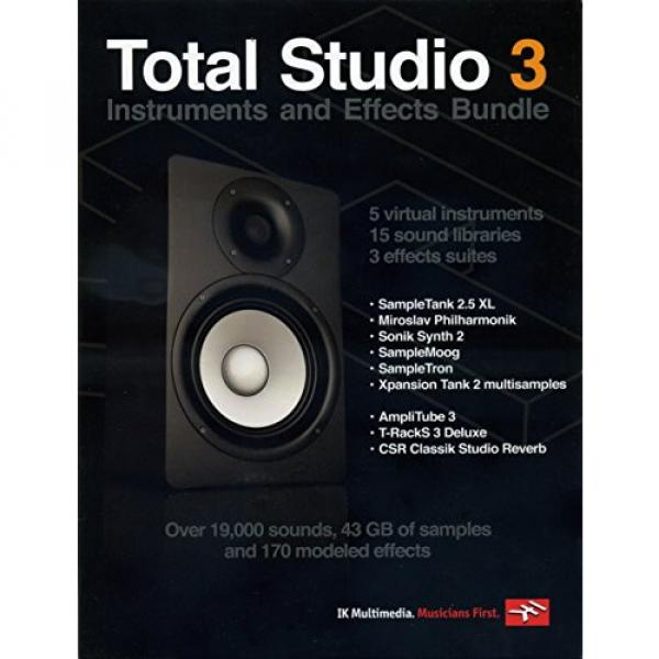 IK Multimedia Total Studio 3 Bundle #1 image